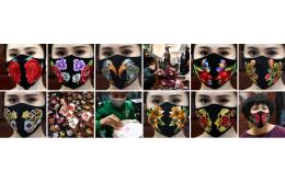 Особенности пошива защитной маски с вышивкой