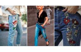 Особенности вышивки на джинсовой ткани
