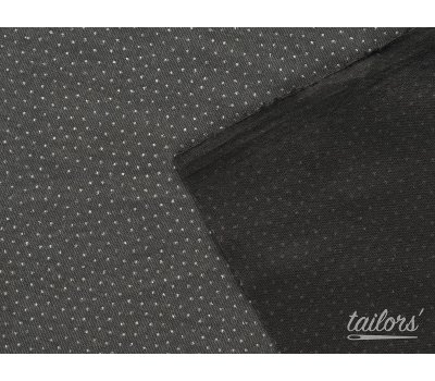 """Дублерин для ворсовых тканей """"Osnova"""" 301b чёрный"""