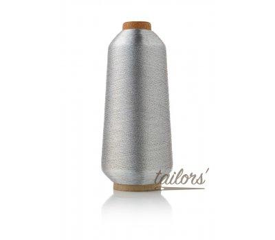 Нить металлизированная вышивальная Sakura sak-2 серебро